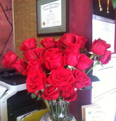 red roses in key west
